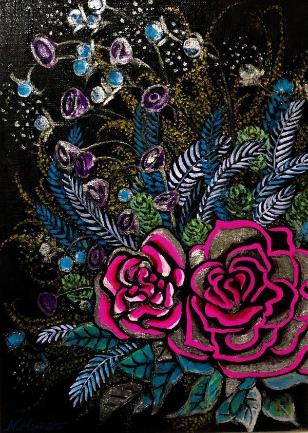 "Oil Painter NORIKO MIYAMOTO Online Exhibition ""Flower"" Art Sales Online Art Store"