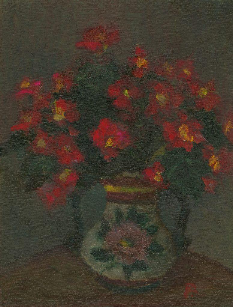 "Painter Ryo.S Online Exhibition ""Flower"" Art Sales Online Art Store"
