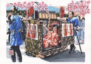 "Painter Kiyoo Yamasita Online Exhibition ""Flower"" Art Sales Online Art Store"