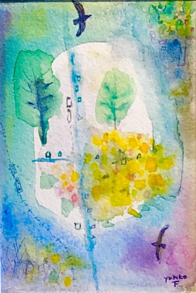 Yukiko Fujimaki - Drawing - JCAT artist