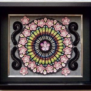 Rose window Ⅱ by Etsuko Narita