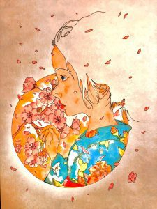 Spring is coming by Takashi Tsujimoto