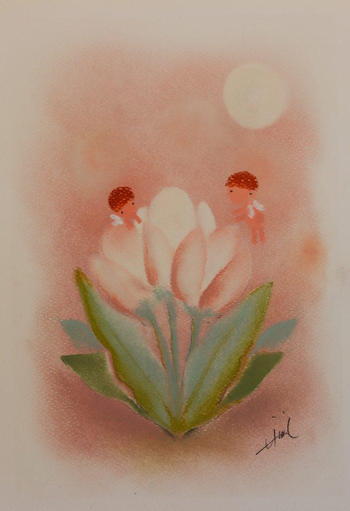 Hiromi's Hana Art - Drawing - JCAT artist