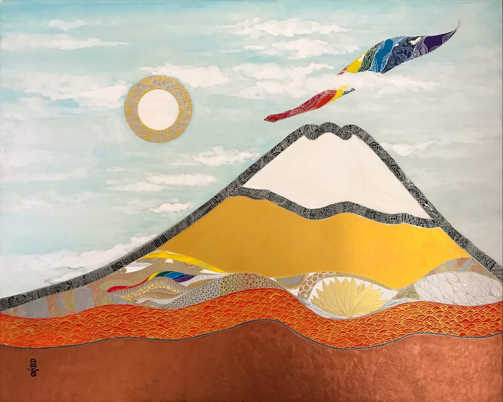 Seven treasures of Fuji by Tateyama Masako