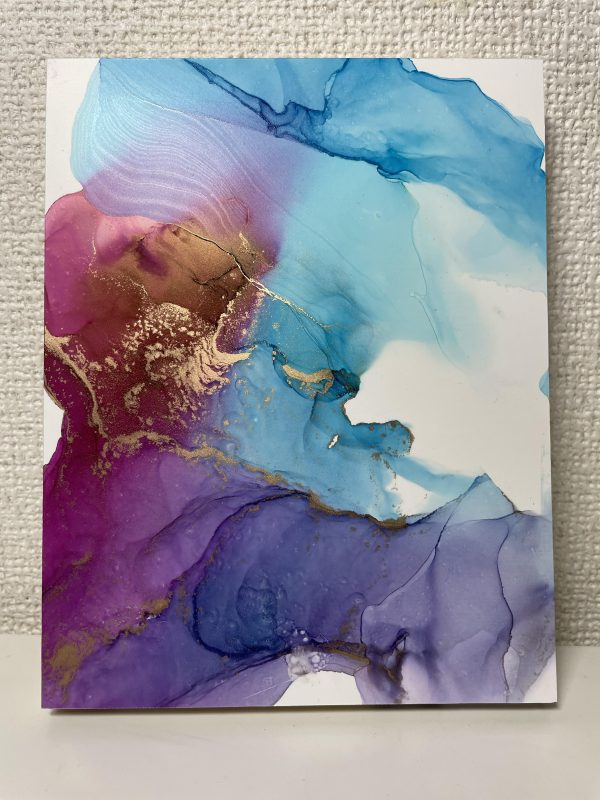 Nina Uchino - Alcohol ink art - JCAT artist