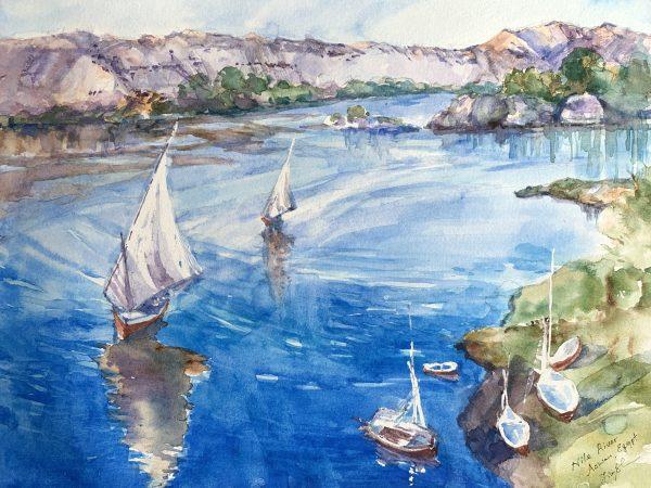 Watercolor Paintings by O'Rainbow O'Rainbow - Painter - JCAT artist