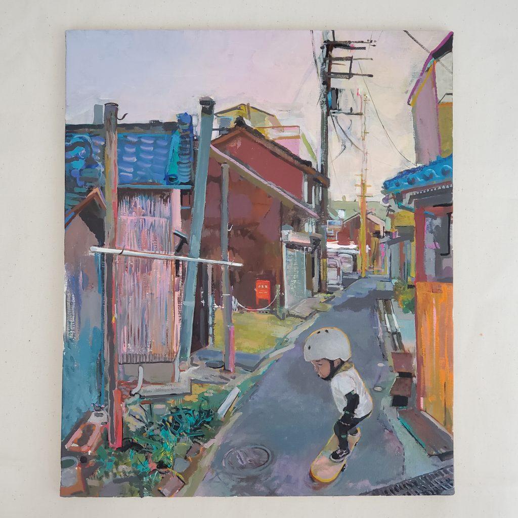 Back alley by Tadashi-NISHIMORI