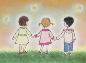Good friends by YUKO ONOGAKI