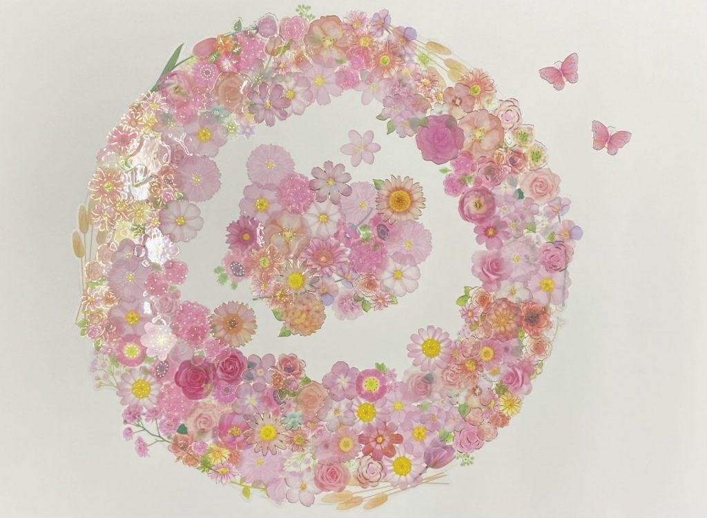 """Akko Japanese artist Online Exhibition """"INSPIRATION"""" Art Sales Online Art Store"""