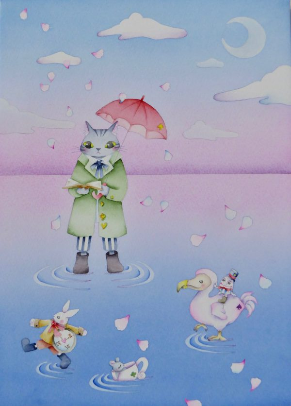 The story of a gentle world by painter Shimanadeko