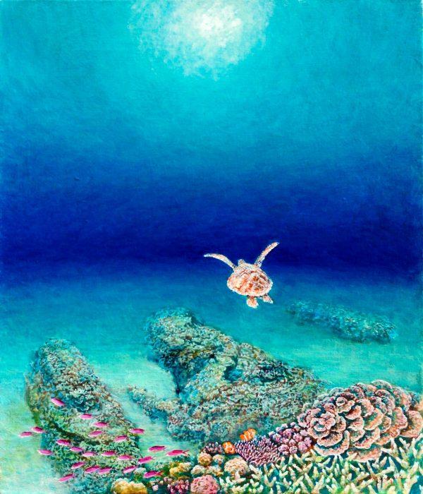 Miyazaki Suji Solo Exhibition Let's Fly into The Light Together MIYAZAKI SUJI SOLO SHOW JCAT Online Gallery