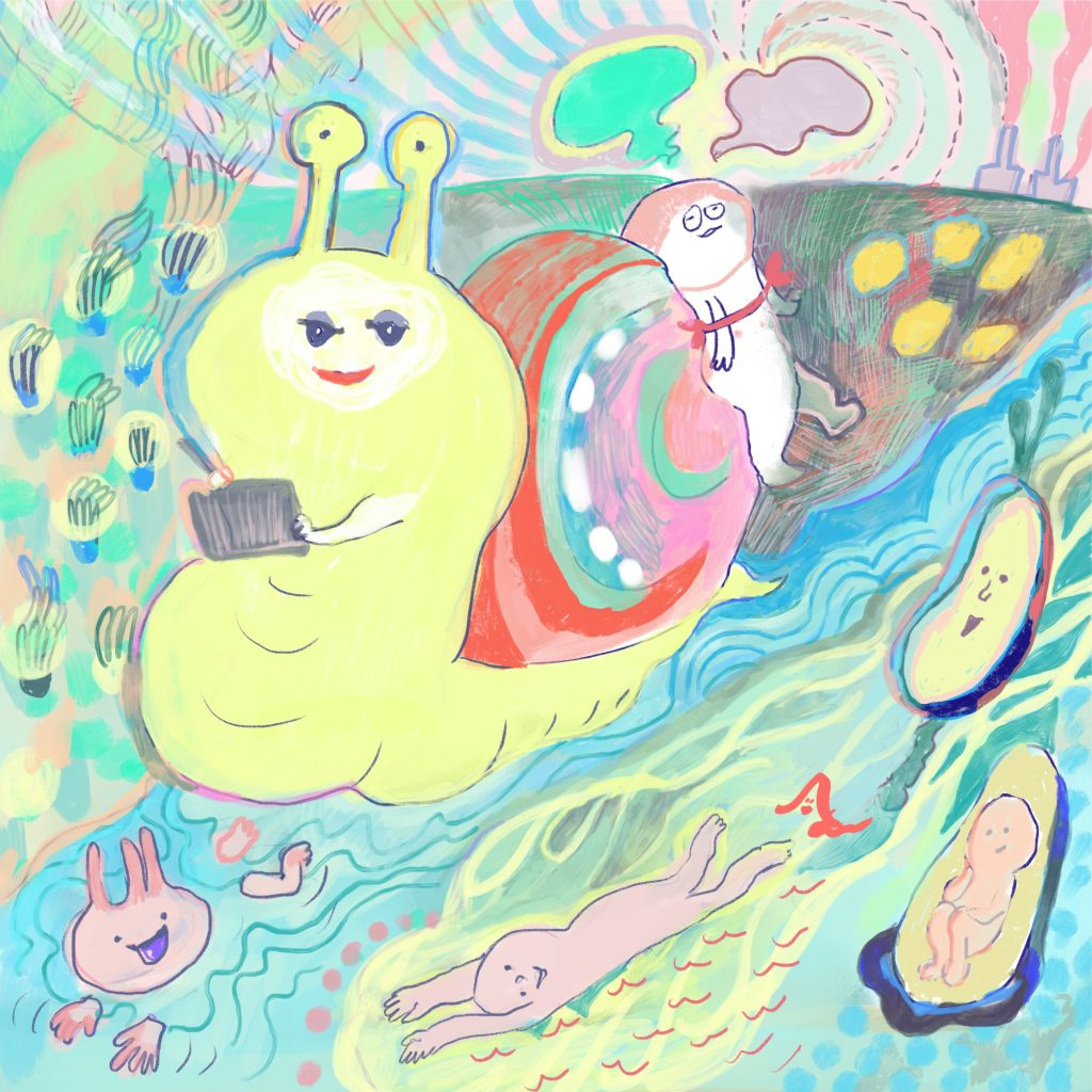 Journey with snails by AAA_chan
