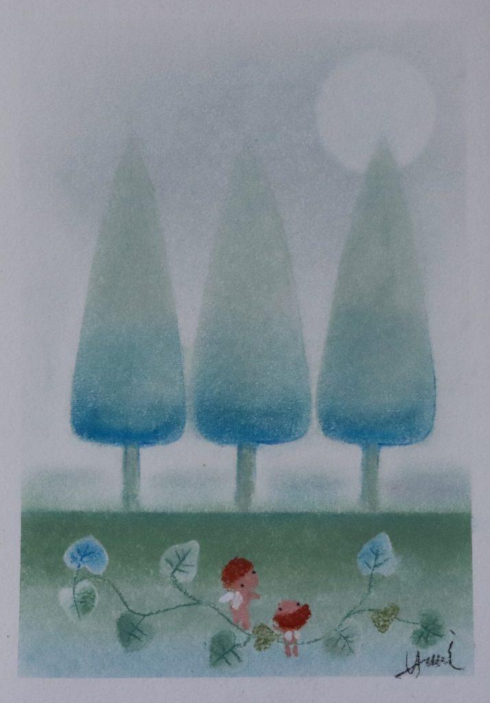 Hiromi's Hana Art Solo Exhibition Gentle souls JCAT Online Gallery