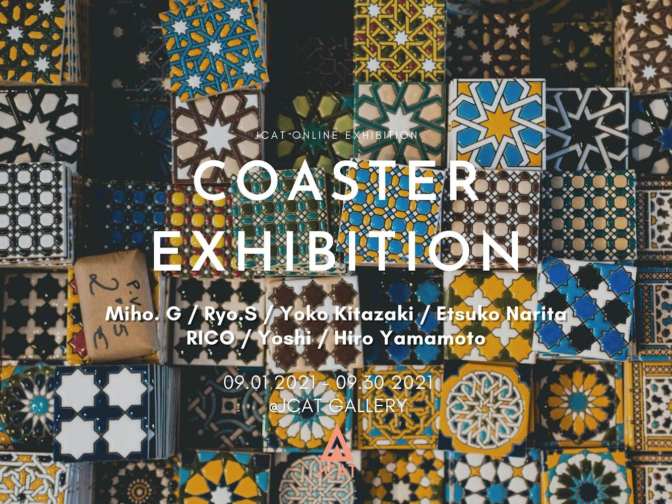 Coaster Exhibition by JCAT Gallery New York Best Online Exhibitions and Art Store Shop Art for sale by artists
