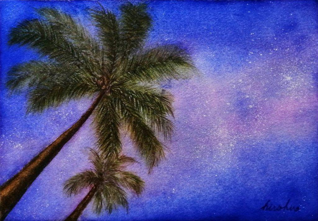 hirohiro Solo Exhibition Glittering Stars and Ephemeral Moonlight JCAT Online Gallery