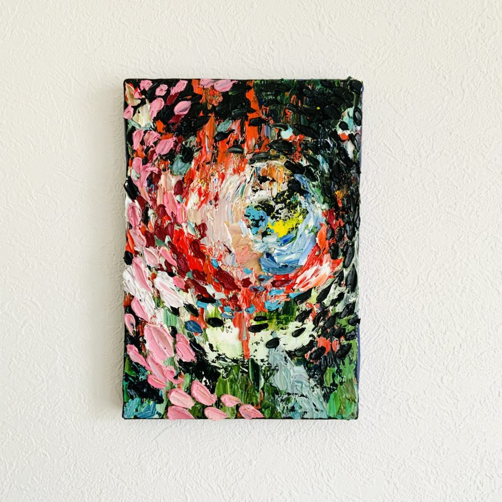 Bloom With You by Japanese oil painter Rmoo