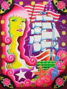 Girl on a voyage the US