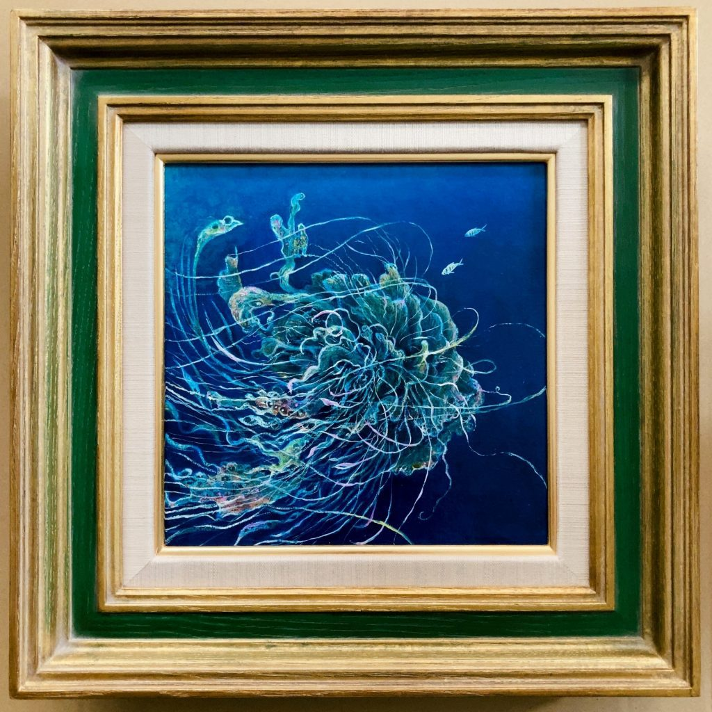 Online Solo Exhibition October DREAMS of OCEAN, Miyazaki Suji Solo Show - Exhibitions featuring original artwork and contemporary art on display at the JCAT Online Gallery